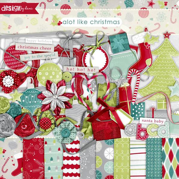 A Lot Like Christmas Complete Kit