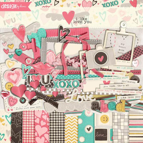 I Like Love You Complete Kit