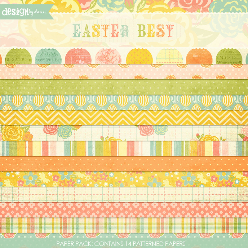 Easter Best Paper Pack