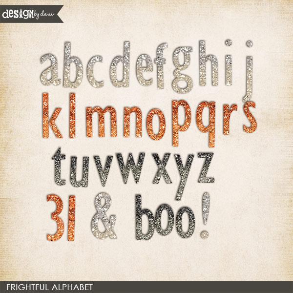 Frightful Alphabet