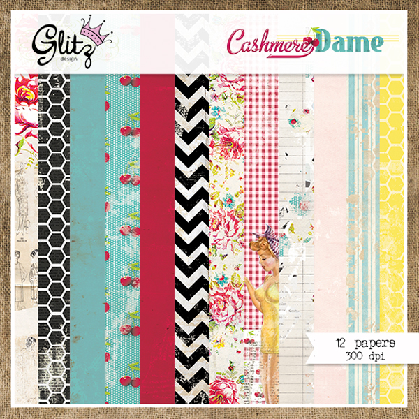 Cashmere Dame Paper Pack