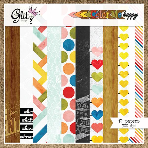 Color Me Happy Paper Pack