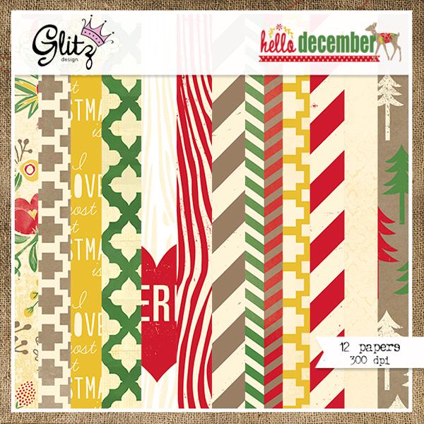 Hello December Paper Pack