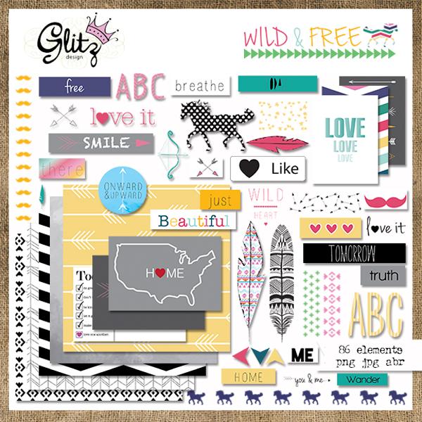 Wild & Free Element Pack 1
