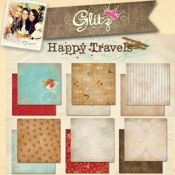 Happy Travels Paper Kit
