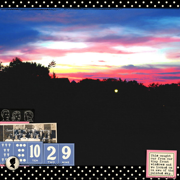 digital layout by Carrie Arick