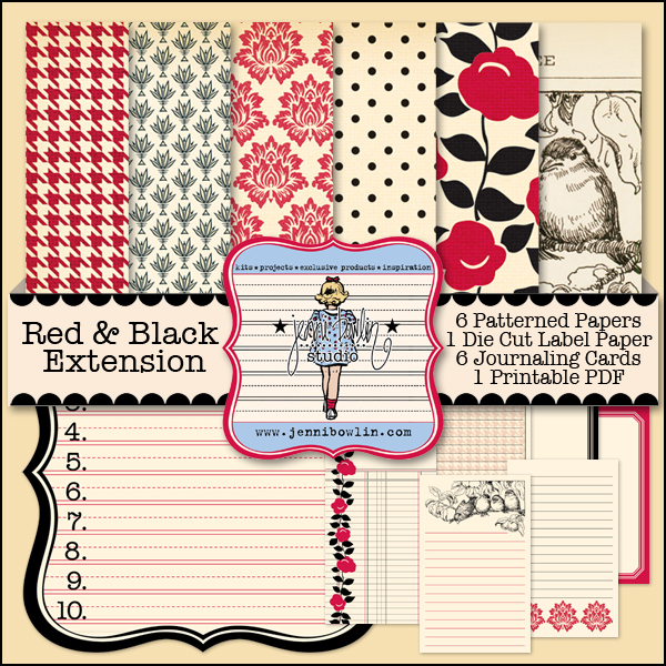 Red & Black Extension Kit