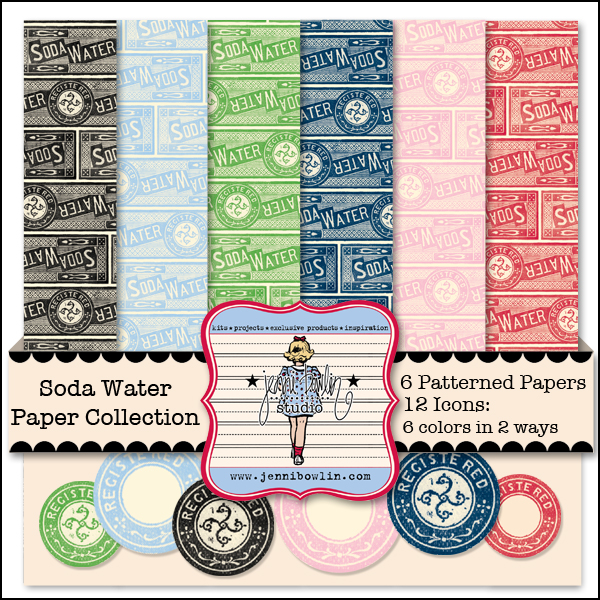 Soda Water Paper Collection