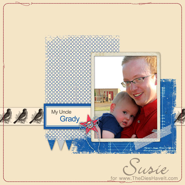Digital layout by Susie Moore