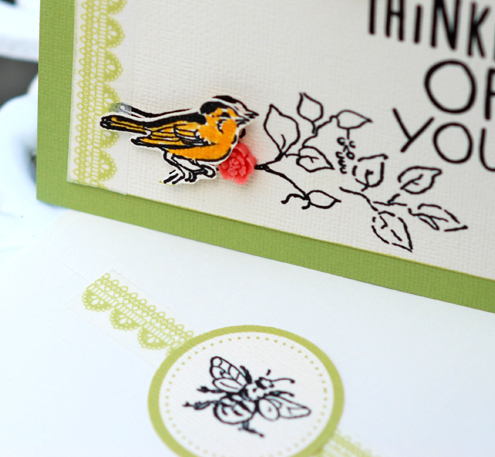 Hybrid card and envelope by Betsy Sammarco