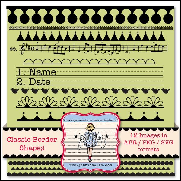 Classic Border Shapes