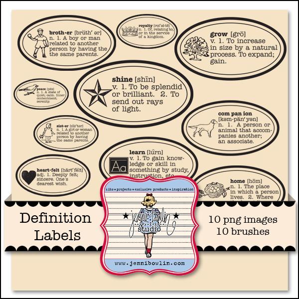 Definition Labels