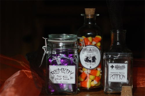 Apothecary Labels & Borders