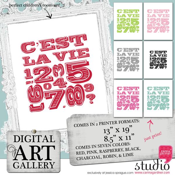 DIGITAL ART GALLERY - C'est La Vie
