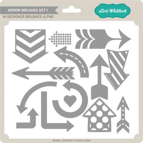Arrow Brushes Set 1