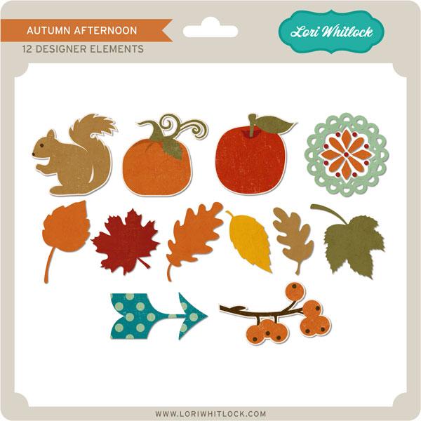 Autumn Afternoon Elements 2