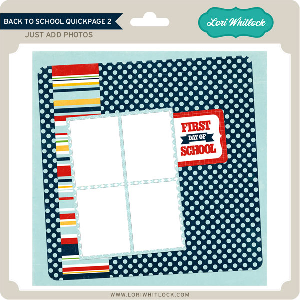 Back to School QuickPage 2