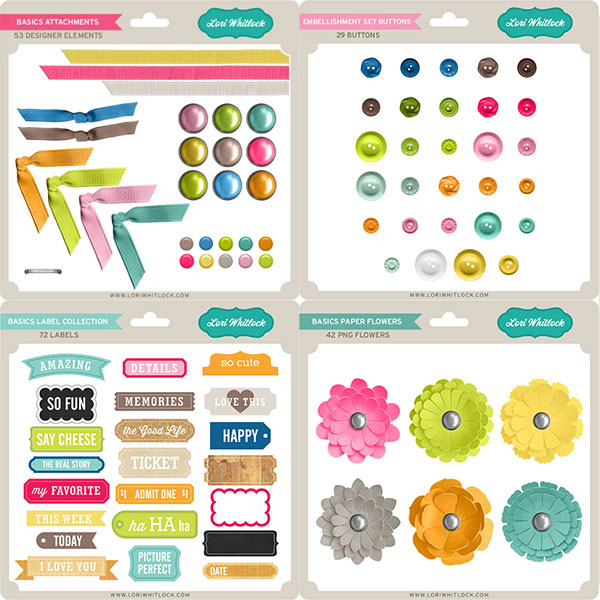 Basics Embellishments Set