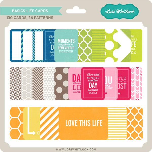 Basics Life Cards