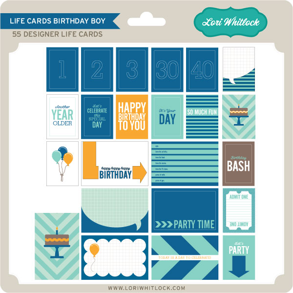 Basics Life Cards Birthday Boy