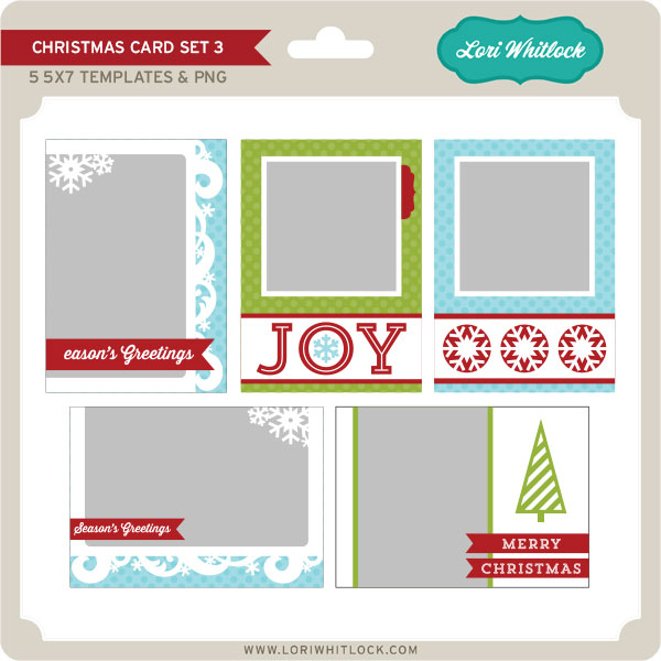 Christmas Card Set 3