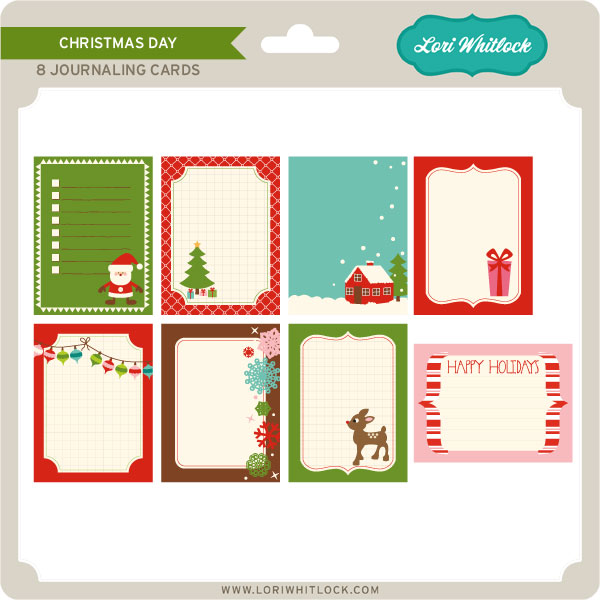 Christmas Day Journaling Cards