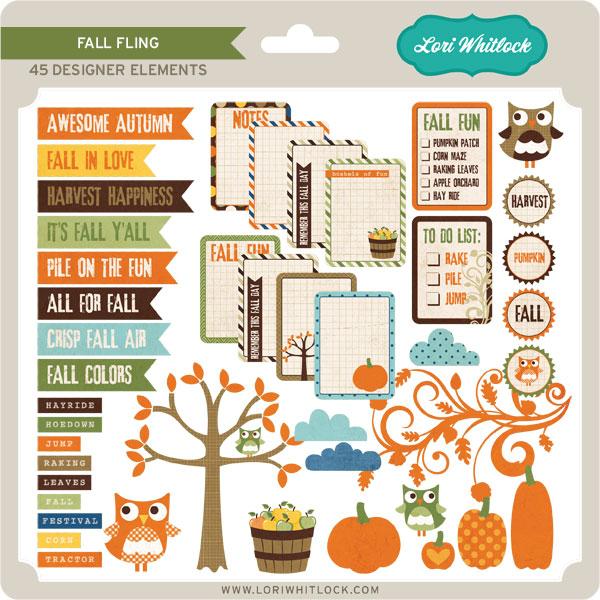Fall Fling Elements