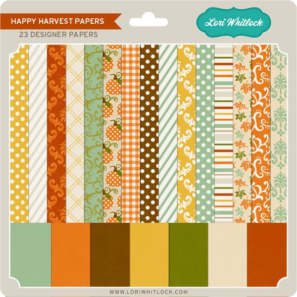 Happy Harvest Papers
