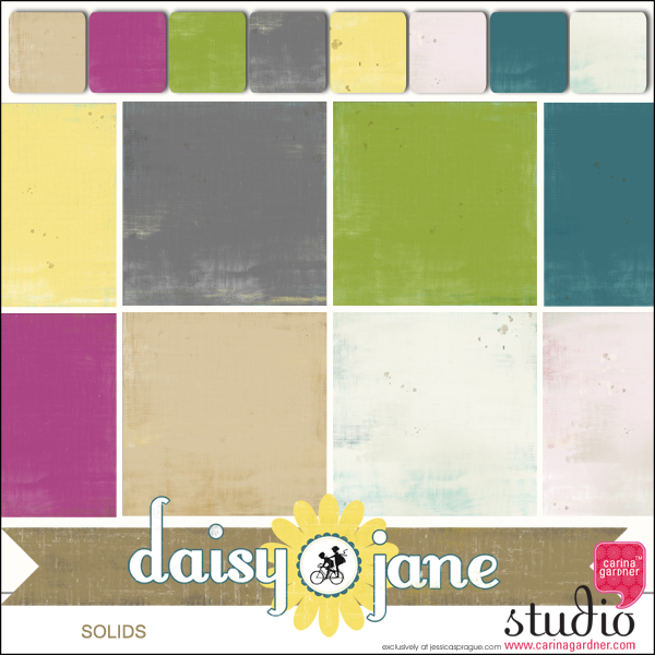 DAISY JANE - Solid Paper Set