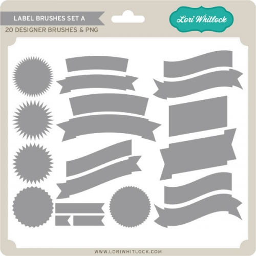 Label Brushes Set A