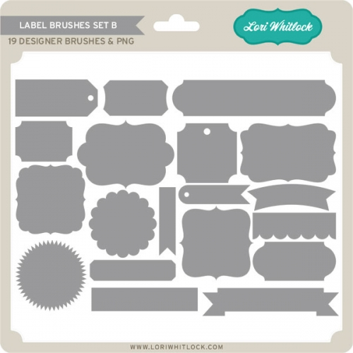 Label Brushes Set B