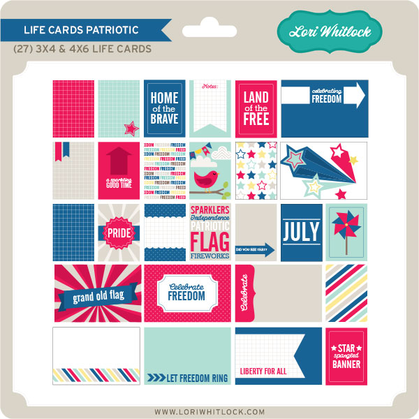 Life Cards Patriotic