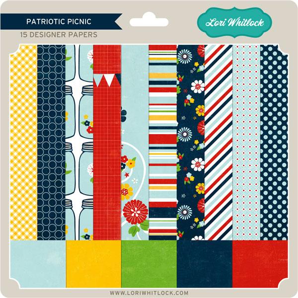Patriotic Picnic Paper