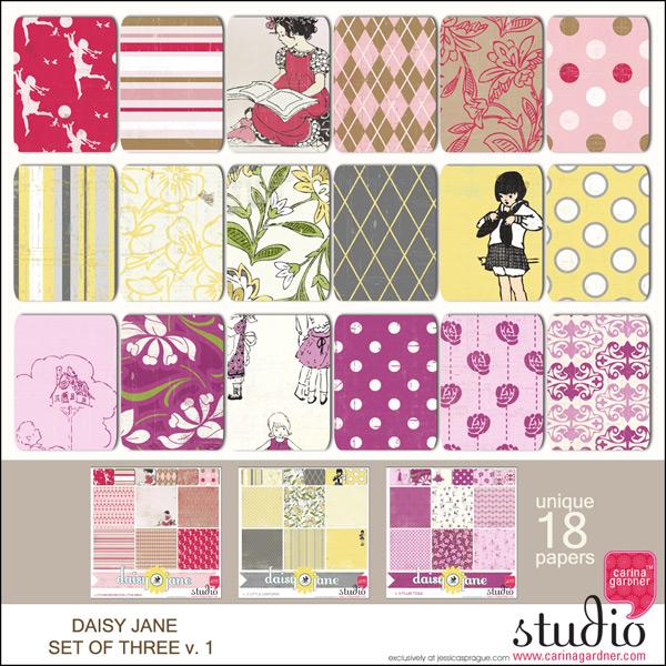 DAISY JANE - Jane Set of 3