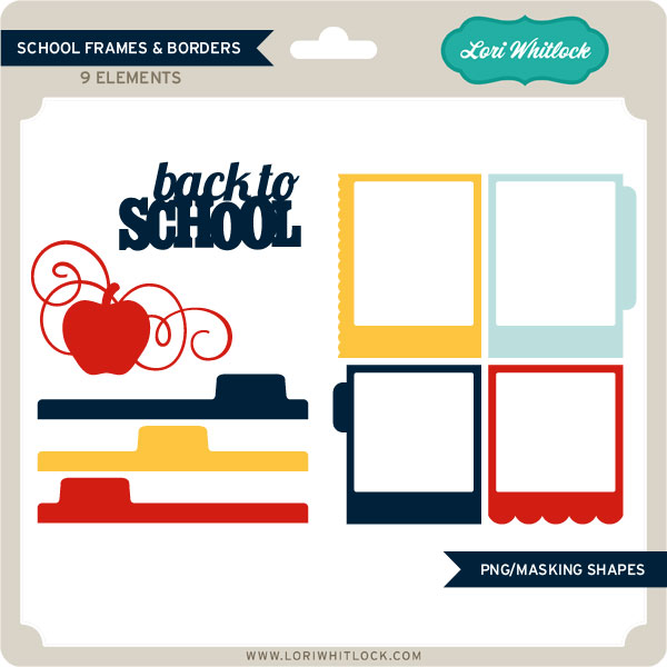 School Frames and Borders