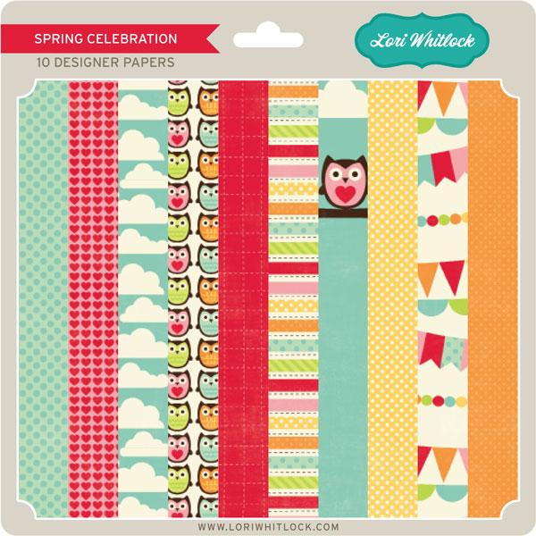 Spring Celebration Paper