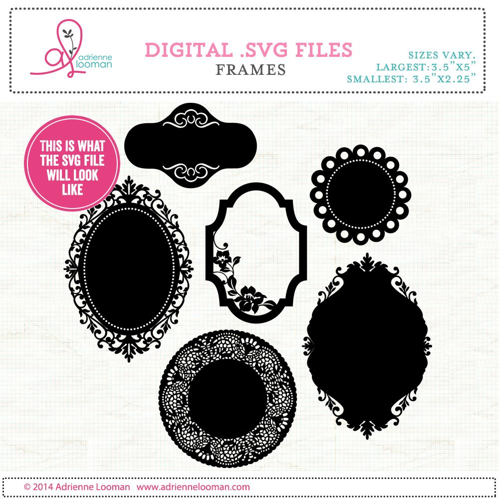 Frames SVG + PNG