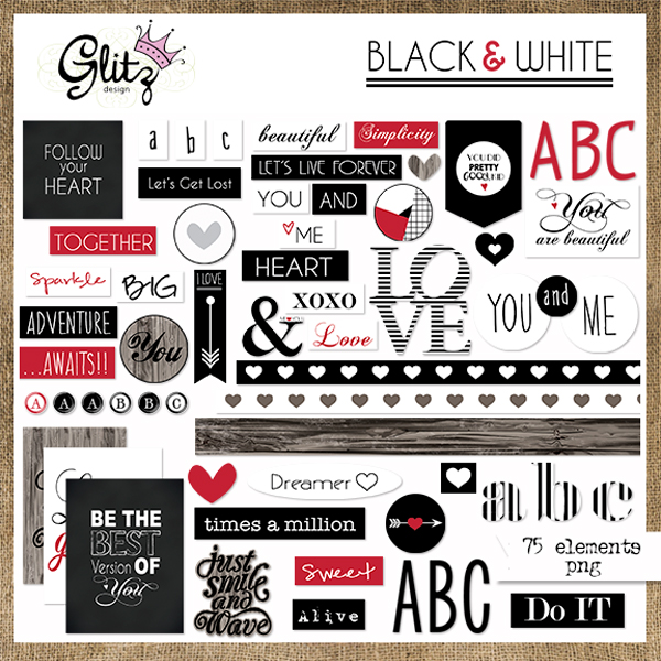 Black & White Element Pack 2
