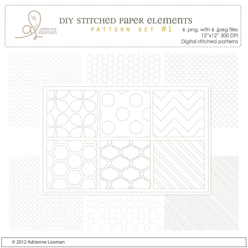 12x12 Stitch designs no.1
