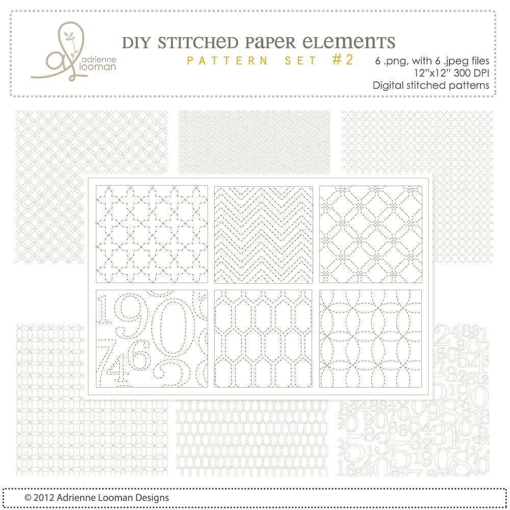 12x12 Stitch designs no.2