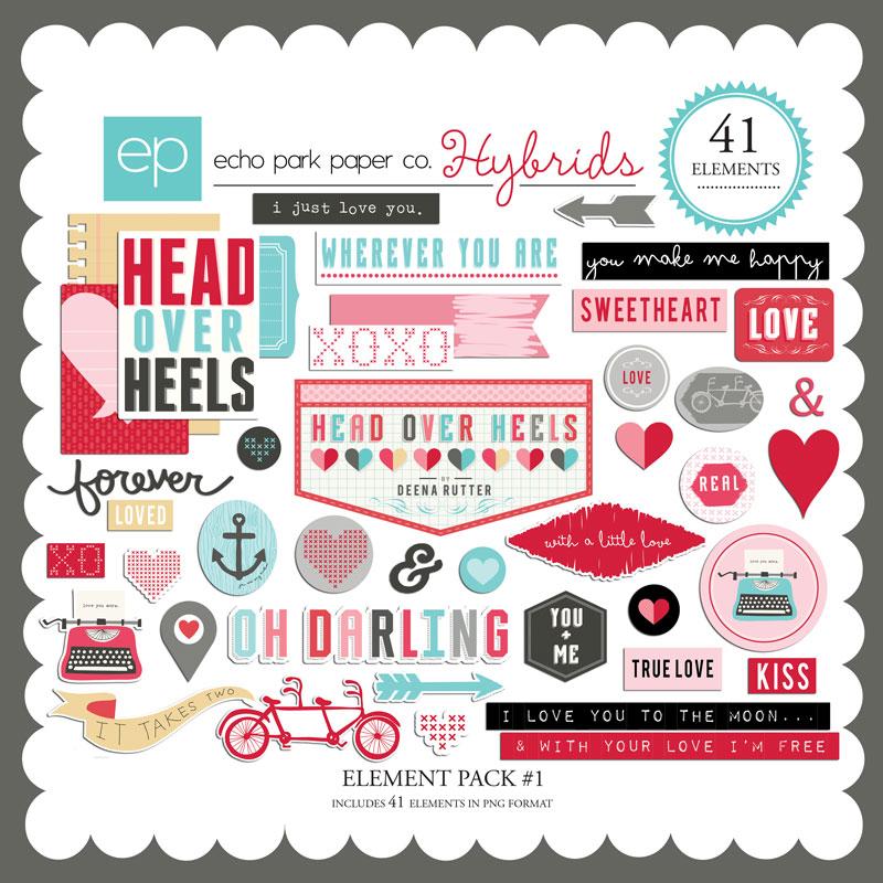 Head Over Heels Element Pack #1