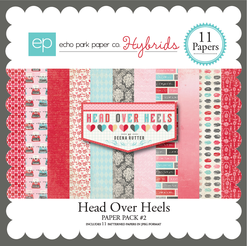 Head Over Heels Paper Pack #2