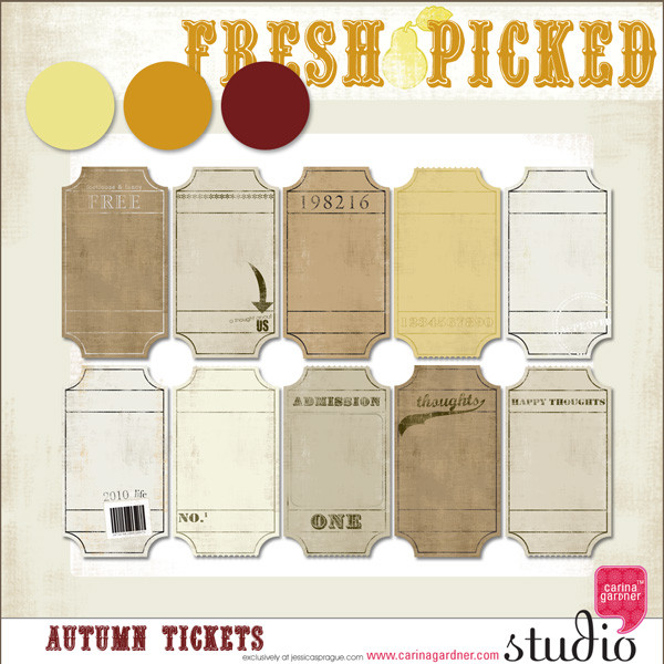 FRESH PICKED AUTUMN TICKETS