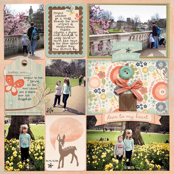 Woodland Spring Journaling Cards