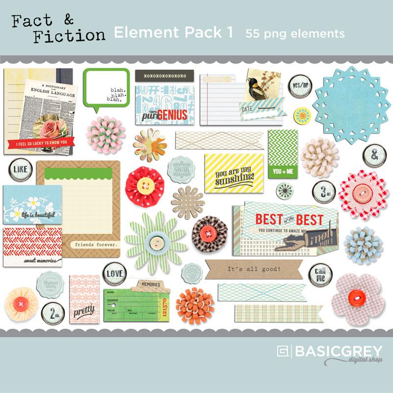Fact & Fiction Element Pack 1