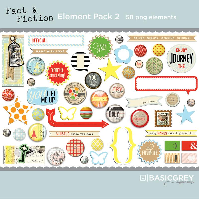 Fact & Fiction Element Pack 2