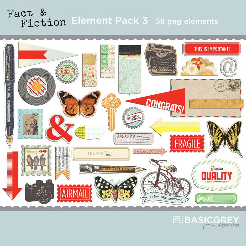 Fact & Fiction Element Pack 3