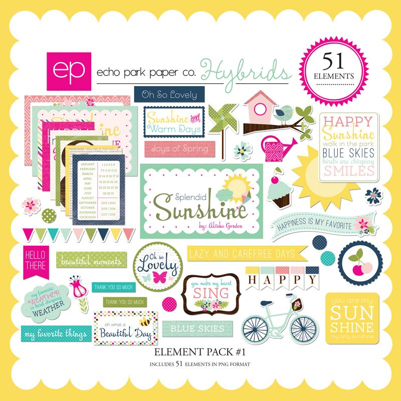 Splendid Sunshine Element Pack #1