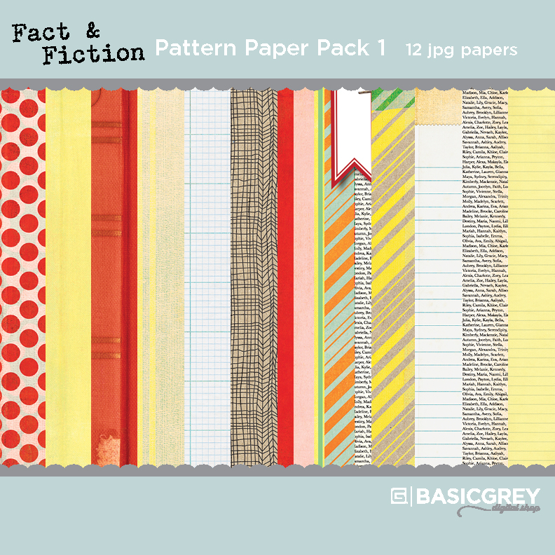 Fact & Fiction Paper Pack 1