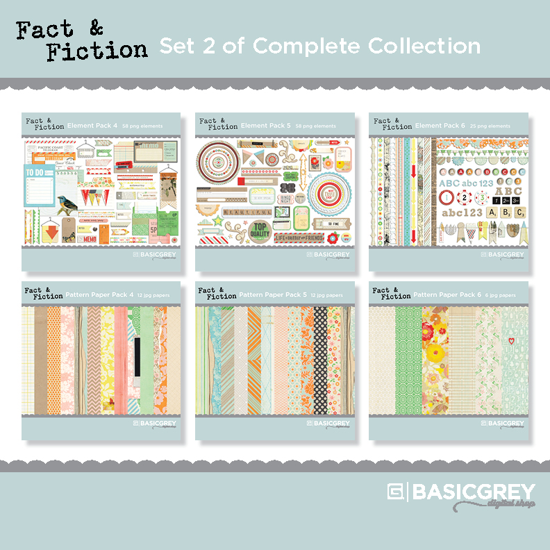 Fact & Fiction Set 2 of Complete Collection